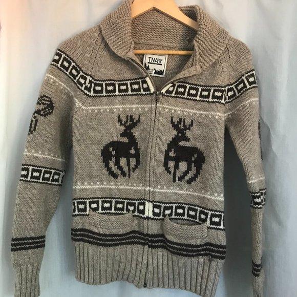 TNA Sea to Sky Cowichan Sweater